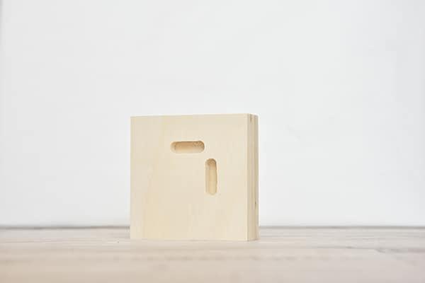 פוטו בלוק מרובע - חלק אחורי