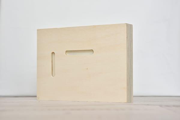 פוטו בלוק מלבני - חלק אחורי